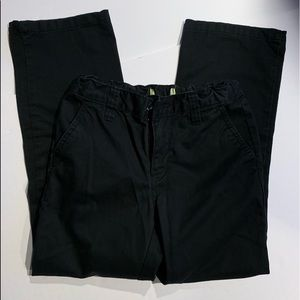 Old Navy Boys Black SZ 10 Standard fit Pants